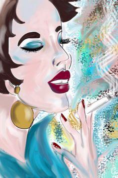 'Madeleine' by Art Deco Gal. Copyright 2012. http://artdecogal.com