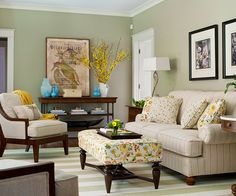 35 ways to use sage green | walls and room