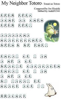 Totoro - Main theme by aniki91344.deviantart.com on @DeviantArt