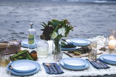 How to Throw a Dinner Party on the Beach | CB2 Blog