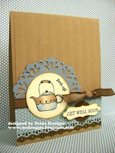 SC394  Perk Up Get Well card by mnfroggie - Cards and Paper Crafts at Splitcoaststampers