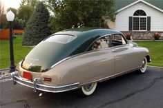 """americancarsguide: """"1949 Packard Custom Eight Club Coupé www.german-cars-after-1945.tumblr.com - www.french-cars-since-1946.tumblr.com - www.japanesecarssince1946.tumblr.com -..."""