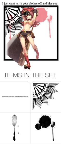 """""""On a totally unrelated topic *Whispers in the background: Hot Topic!*"""" by poycoy on Polyvore featuring art"""
