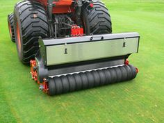 The new RGD140 disc overseeder is a precision engineered 1.4m machine from Dairon for use with a compact tractor. Using an adjustable height disc it cuts a slit which is opened with a following coulter. The seed is accurately measured using Dairons latest seeder system and sown directly into the groove which is pressed closed using a flexible rear roller.