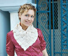 DIY: woven sweater scarf