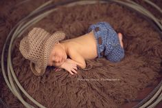 Newborn Jeans CROCHET PATTERN  PDF  Pattern by meandmorningglory, $5.00. Love this cute outfit pattern