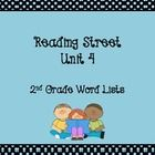 This file contains the amazing, vocabulary, and high frequency words for each story in unit 4 of SF Reading Street in poster format....