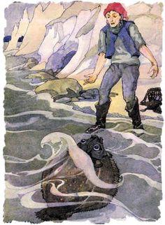 Grimm: Il pescatore e la moglie