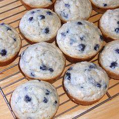 Freshly Grated Ginger: Blueberry Banana Oat Muffins