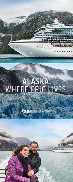 Alaska is nature on an epic scale and no one helps you experience this wild frontier like Princess Cruises. Choose from a variety of ways to see the Great Land—including our to voyages. Start planning the cruise of a lifetime today. Cruise Destinations, Vacation Places, Cruise Vacation, Vacation Trips, Dream Vacations, Vacation Spots, Places To Travel, Cruise Travel, Vacation Ideas