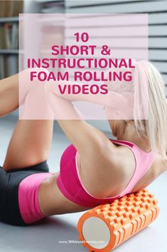 Foam rolling: what is it, what are the benefits, how to use a foam roller and 10 popular instructional videos to help eliminate your runner aches and pains. Running Routine, Running Tips, Crosstrainer Workout, Foam Rolling For Runners, Post Run Stretches, Stretching Workouts, Running Workouts, Fitness Workouts, Foam Roller Exercises