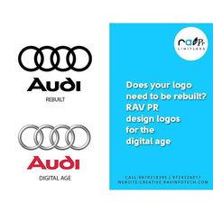 Does your logo need to be rebuild?  RAV PR design logos for the digital age !! #ravinfotech #pr #buliding #brand #domain #hosting #graphic #design #vadodara #video #public #spicking #training #online #marketing #custom #application #mobile #website #devrlopment #application #logo by ravinfotech
