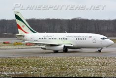 EP-AGA Islamic Republic of Iran Boeing 737-286(A)