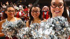the science cheerleaders.  cute.