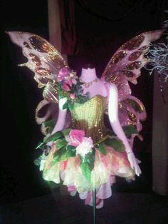 Image result for black and pink fairy wings