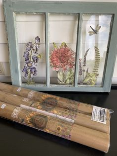 We also offer Iron Orchid Designs (IOD) products online and in our Abingdon, Virgnia location. Window Frame Crafts, Old Window Art, Window Pane Art, Old Window Decor, Old Window Projects, Window Frames, Window Ideas, Diy Projects, Old Windows Painted