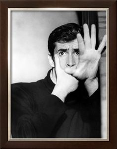 "Anthony Perkins (April 4, 1932 - September 12, 1992) as Norman Bates in ""Psycho"", 1960. age 28 #actor"