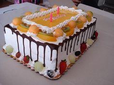 fruit cake decoration - Buscar con Google