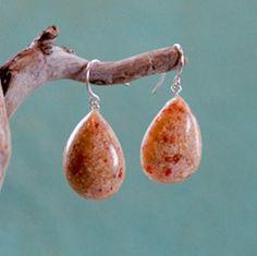 Pink Bermuda sand earrings