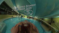 Aquaworld Budapest  Elephant Slide (Kids Waterslide) 360° VR POV Onride Turn Off, Water Slides, Vr, Budapest, Elephant, Kids, Young Children, Boys, Children