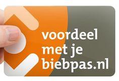 Profiteer van korting tijdens De Nationale Voorleesdagen In het kader van Voordeel met je Biebpas wordt tijdens De Nationale Voorleesdagen 2015. Een website boordevol met acties en voordeel voor bibliotheekleden in Brabant, Gelderland, Noord- en Zuid-Holland, Overijssel, Zeeland, Limburg, Flevoland, Friesland, Utrecht en Groningen! Staat het bibliotheeklogo op je pas? Dan is het een Biebpas en kun je gebruik maken van alle voordelen. http://www.voordeelmetjebiebpas.nl/