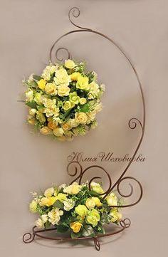 Artificial Floral Arrangements, Modern Flower Arrangements, Deco Floral, Floral Design, Silk Flowers, Paper Flowers, Flower Decorations, Wedding Decorations, Flower Boxes