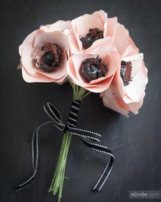 Paper Anemone Flower + Tutorial