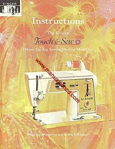 Singer 620 Sewing Machine Instruction Manual.  88 page manual.  Here are just a few examples of what's included in this manual:  * Threading the machine. * Winding the bobbin. * Tension Adjustment. * Needle Threader. * Stitches, Zig Zag And More. * Selecting A Pattern. * Chainstitching. * Cleaning Your Machine.