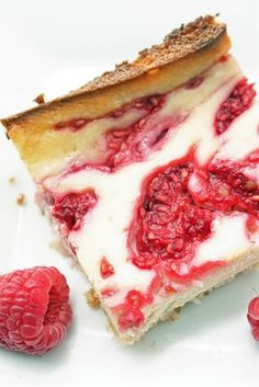 I Breathe... Im Hungry...: Low Carb Raspberry Cheesecake Bars you also can substitute coconut oil ( for the butter and it is much more healthy)! - Click image to find more food & drink Pinterest pins