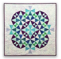 Kaleidoscope 2 Quilt: Eleanor Burns Signature Quilt Pattern 735272012368 - Quilt in a Day Books