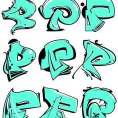 Breakdance © Favorite one? Graffiti Lettering Alphabet, Graffiti Font, Graffiti Tagging, Graffiti Designs, Graffiti Drawing, Graffiti Styles, Street Art Graffiti, Hand Lettering, Images Alphabet