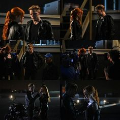 """""""#Shadowhunters 1.03 - Dead Man's Party. / Part 1.  Photo credit: @TMISource. : John Medland."""""""
