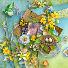 """templates """"Classic Focus 4"""" by Dafinia Graphics and Photography,http://digital-crea.fr/shop/index.php?main_page=index&manufacturers_id=192, kit """"Hello Spring"""" by BooLand Designs, photo Pezibear, https://pixabay.com/cs/users/Pezibear-526143/"""