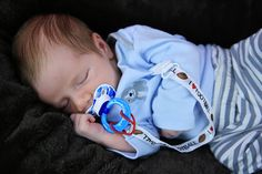 Football Paci Clip Football binky clip by MendingLifeTogether