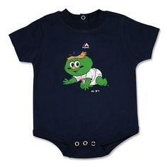 Boston Red Sox Mascot Baby Wally The Green Monster Newborn Creeper Onesie, $20 via YawkeyWayStore.Com