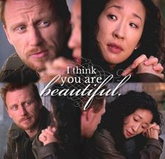 First Owen experience Cristina And Owen, Cristina Yang, Greys Anatomy Couples, Greys Anatomy Facts, Hot Couples, Cutest Couples, You Changed My Life, Owen Hunt, Dark And Twisty