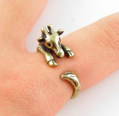 Adorable rings and they give 10% back to the animals. :)