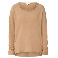 "Cashmere-Sweater ""JOELLE"" - Camel - 165 €"