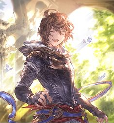 Our Sandalphon Lucifer Cosplay Granblue En Knite Photoshoot Sandalphon From Granblue Fantasy. Fantasy Character Design, Character Design Inspiration, Character Concept, Character Art, Anime Fantasy, Fantasy Art, Lucifer Characters, Granblue Fantasy Characters, Persona Anime