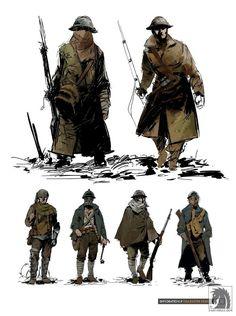 Bildergebnis für battlefield 1 character design
