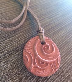 Diffuser Pendant Necklace for Essential Oils Uniquely Handcrafted by Min Favorit #MinFavorit #copperleaf