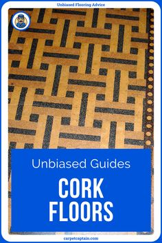 Cork is one of the most unique floors. You see carpet, hardwood, hardwood-imitators, and tile in most homes. How often have you seen cork? Have a look at our complete Unbiased Guide to cork! Unique Flooring, Cork Flooring, Types Of Wood, Hardwood Floors, Tile, Carpet, Homes, Make It Yourself, How To Make
