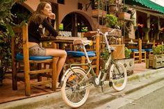 "Citizen Bike folding bike shop | Portable & Folding Bikes | BARCELONA Citizen Bike 20"" 3-speed Folding Cruiser with Alloy Frame"