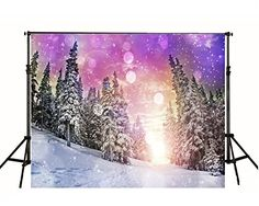7x5ft Sunset Snow Forests Cabins Photography Backdrop Win... https://www.amazon.com/dp/B01GV29EXY/ref=cm_sw_r_pi_dp_x_YVhdyb3KWKE4M