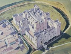 Middleham Castle Reconstruction England 1480 AD