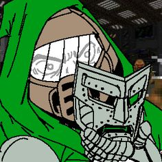 Doomguy as Doctor Doom
