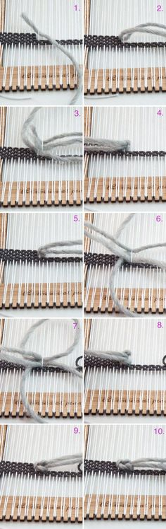 Soumak Weave- how to use your Unusual Pear Loom|The Weaving Loom