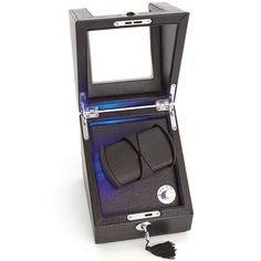 Executive Leather Adjustable Dual Automatic Watch Winder