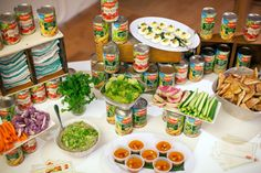 A table full of pantry essentials. Kitchen Pantry, New Kitchen, Pantry Inspiration, Pantry Essentials, Home Organization, Organizing, Ocd, Fresh Rolls, Getting Organized