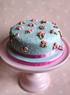 Go to site for all the best dessert recipes including cake pops, cupcakes, pies, brownies & lots more! Sweet Cakes, Cute Cakes, Pretty Cakes, Yummy Cakes, Fancy Cakes, Mini Cakes, Gorgeous Cakes, Amazing Cakes, Cath Kidston Cake